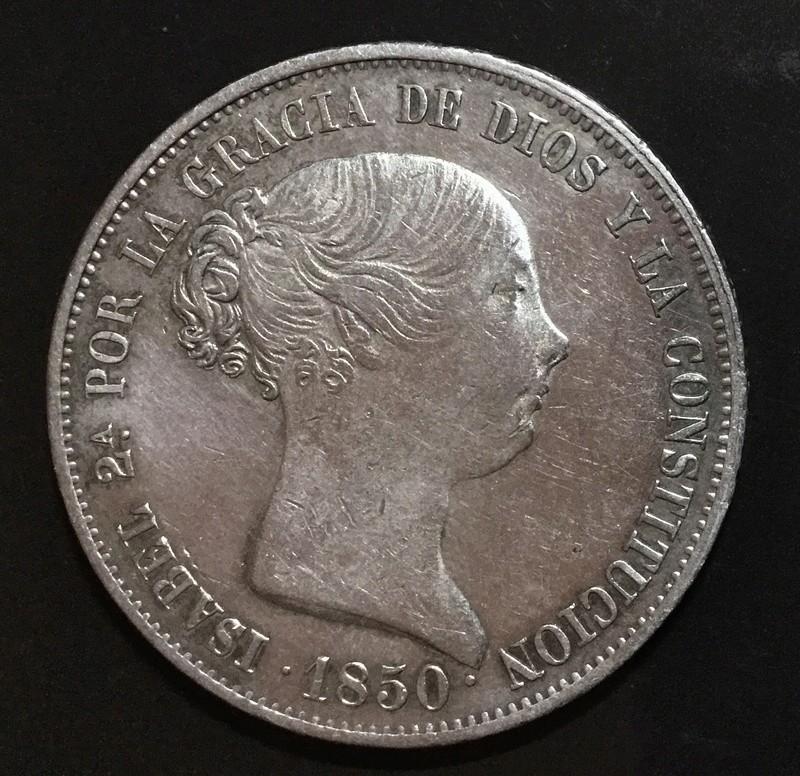 20 reales 1850 Madrid CL. 707af910