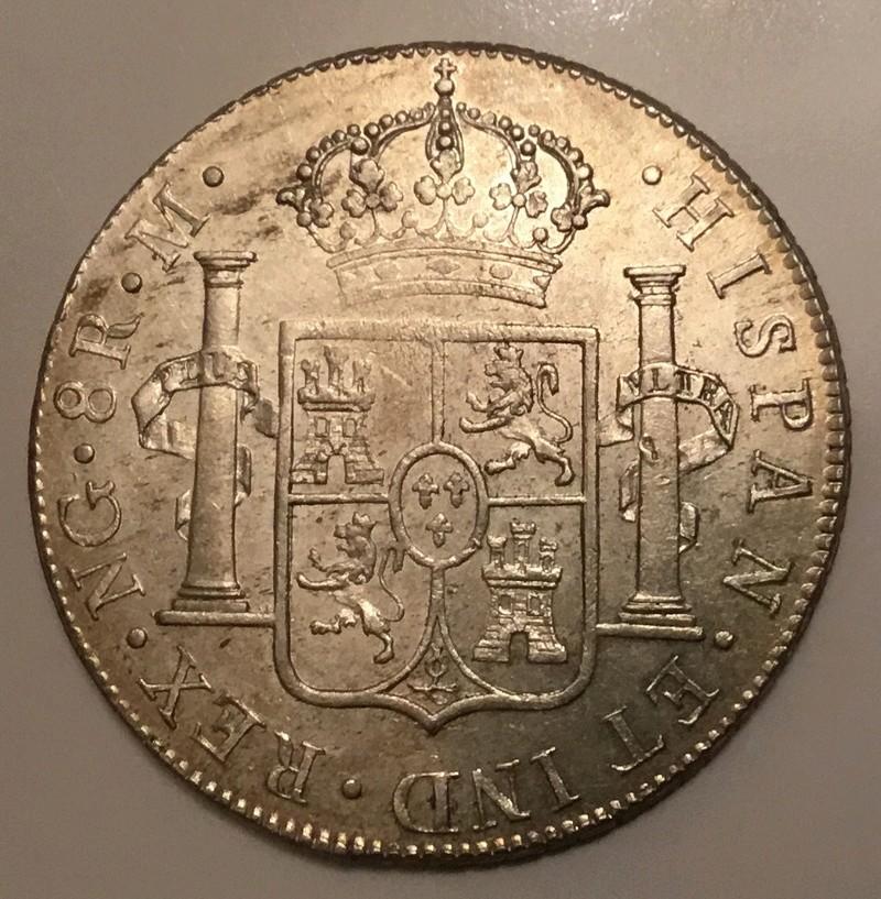 1809 Fernando VII. Guatemala M . 8 reales  77483b10