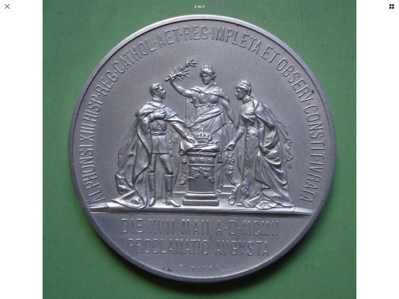 1902 proclamación de Alfonso XIII 8f0f2c10