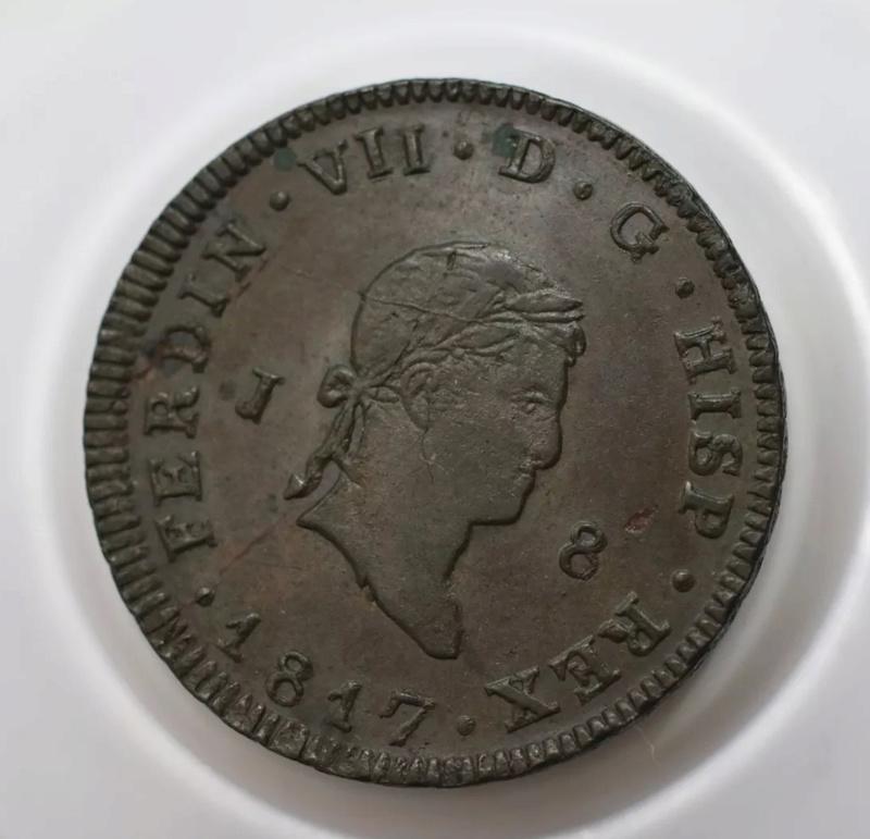 8 maravedis 1817 jubia B3a0e310