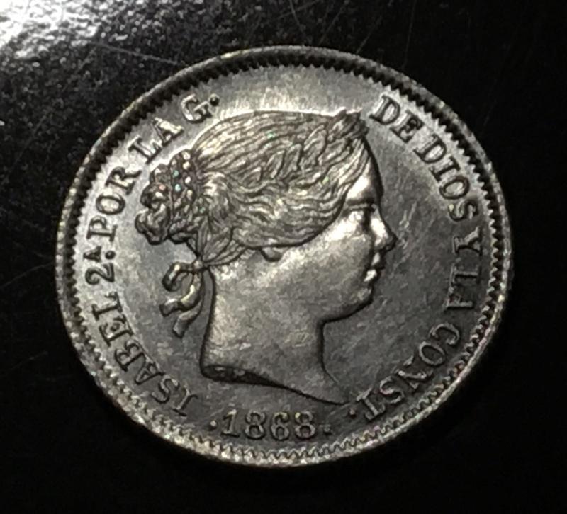 1868 10 centavos de escudo E6ef5310