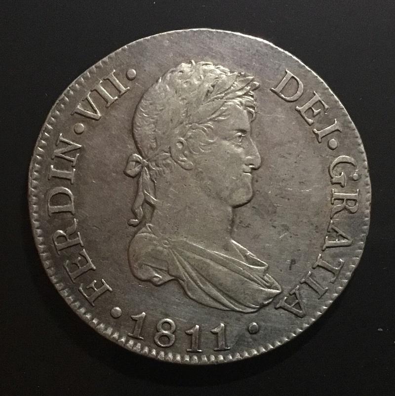 1811 Cádiz CI, 8 reales Fernando VII F7c4e510