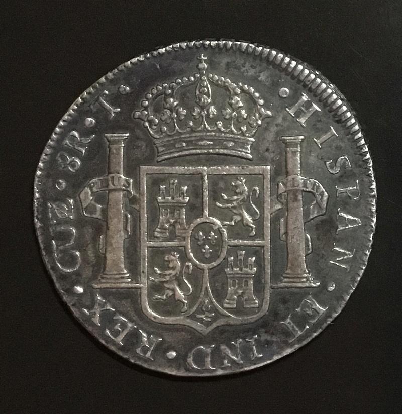 8 reales 1824 T Cuzco, Fernando VII Fbd55910
