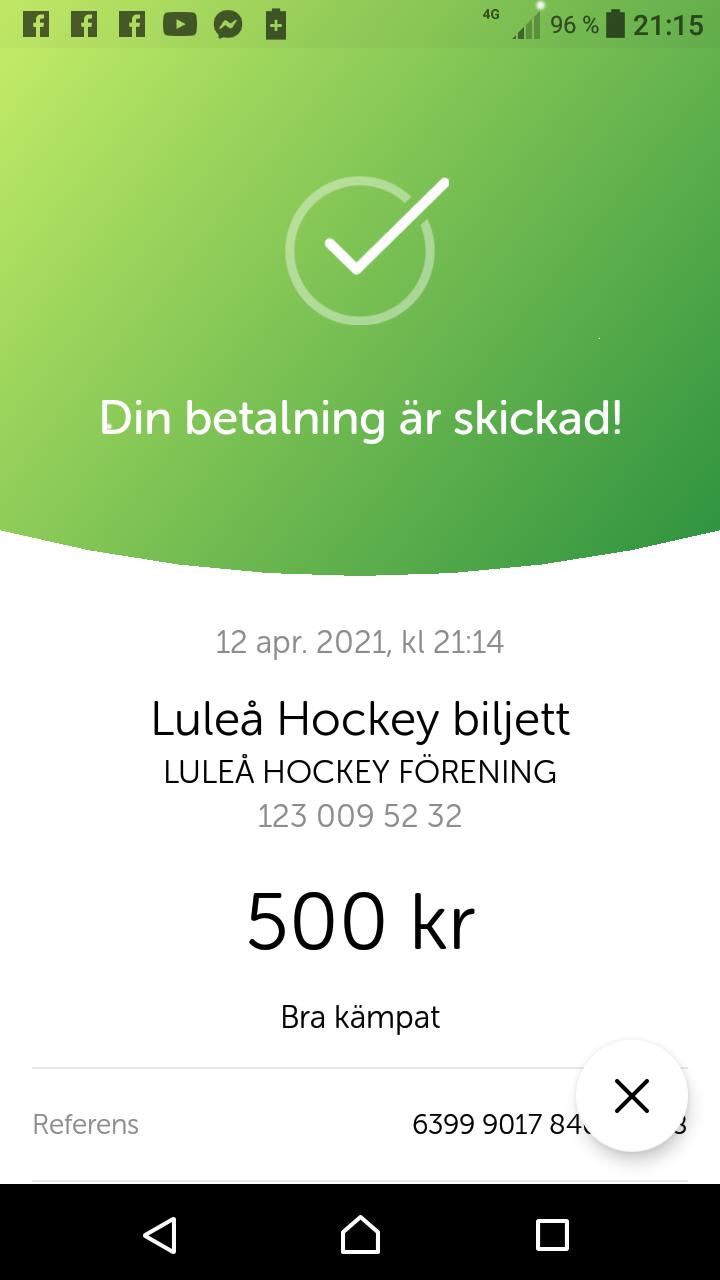2021-04-12, SM-kvartsfinal 2, Skellefteå - Luleå - Sida 6 17337010
