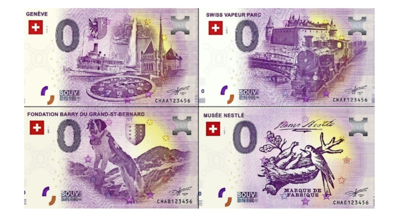 "BILLETES ""O"" (ZERO) EUROS.................(en general) Billet10"