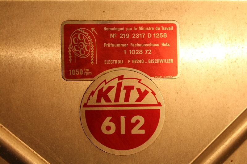 Scie à ruban Kity 612 (petite restauration, j'espère) Img_8312