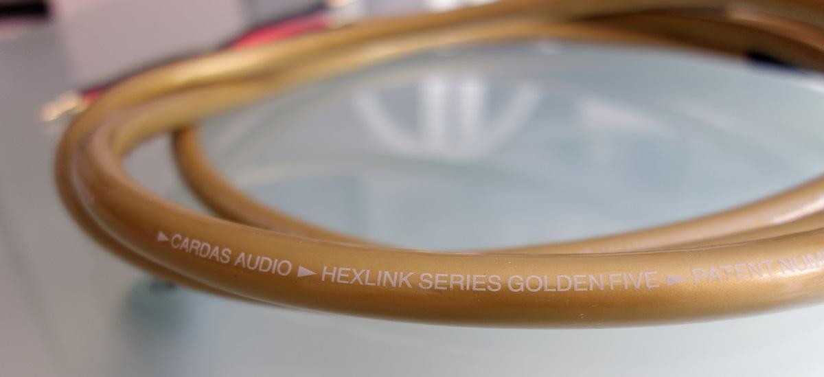 Cable altavoces CARDAS Hexlink Golden Five 2x2.5m. VENDIDO!!! Cardas11