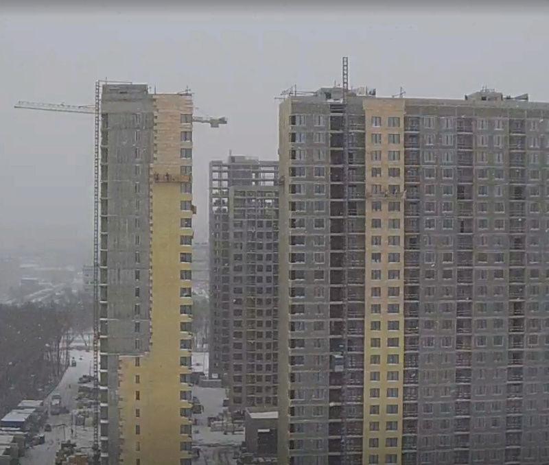 """На ЖК """"Летний сад"""" - начался монтаж фасадных конструкций! Теплозвукоизоляция под ними - лучше, чем у соседнего ЖК """"Город"""" - Страница 2 18y11"""