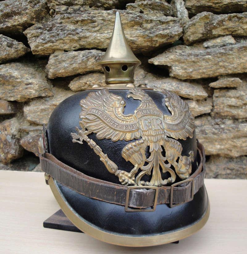 Mon premier pointu casque prussien 1895 1122