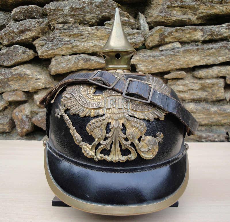 Mon premier pointu casque prussien 1895 1221