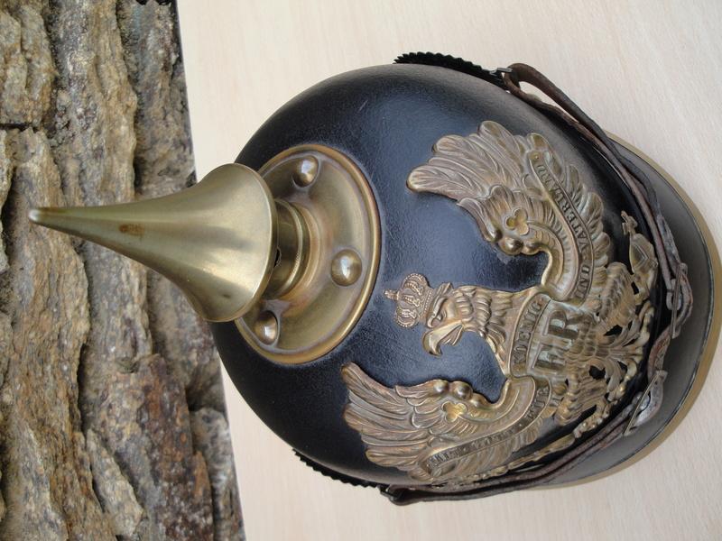 Mon premier pointu casque prussien 1895 1321