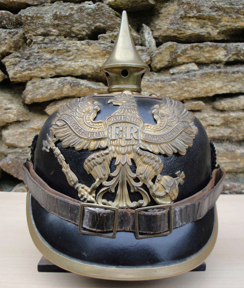 Mon premier pointu casque prussien 1895 135
