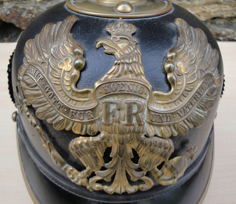 Mon premier pointu casque prussien 1895 1520