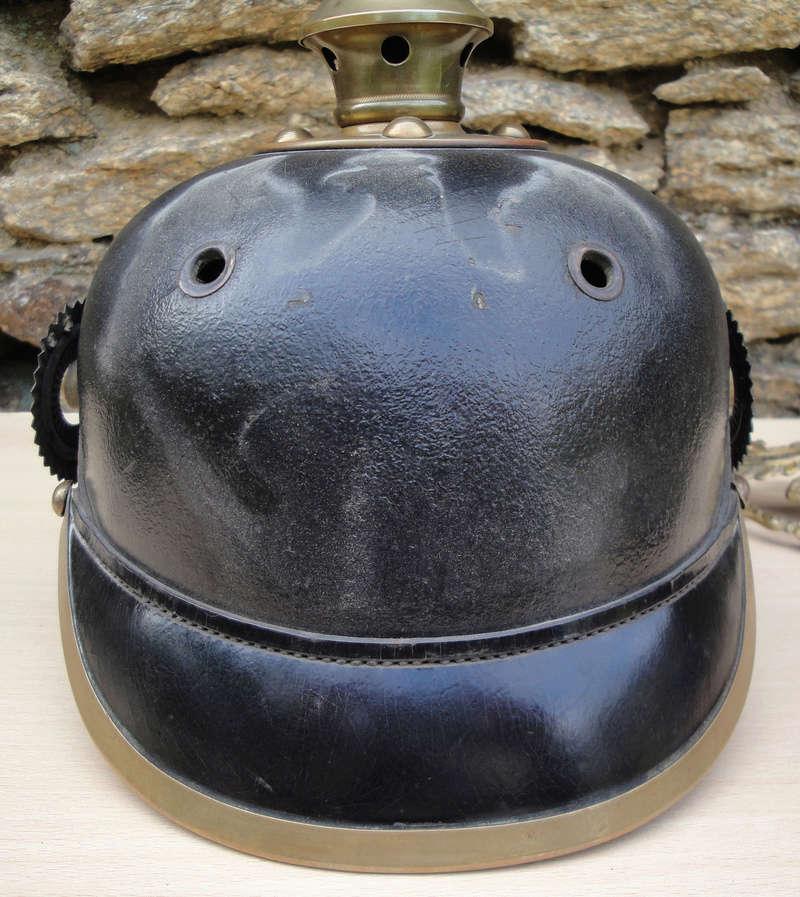 Mon premier pointu casque prussien 1895 1620