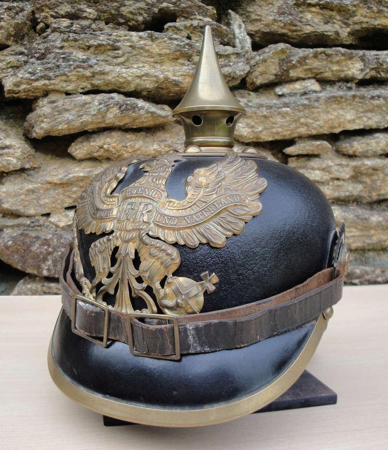 Mon premier pointu casque prussien 1895 330