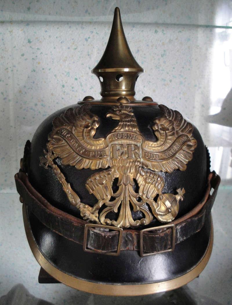 Mon premier pointu casque prussien 1895 3311