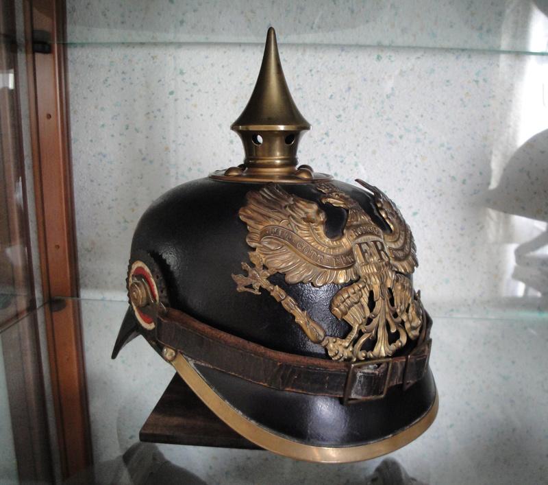 Mon premier pointu casque prussien 1895 3411