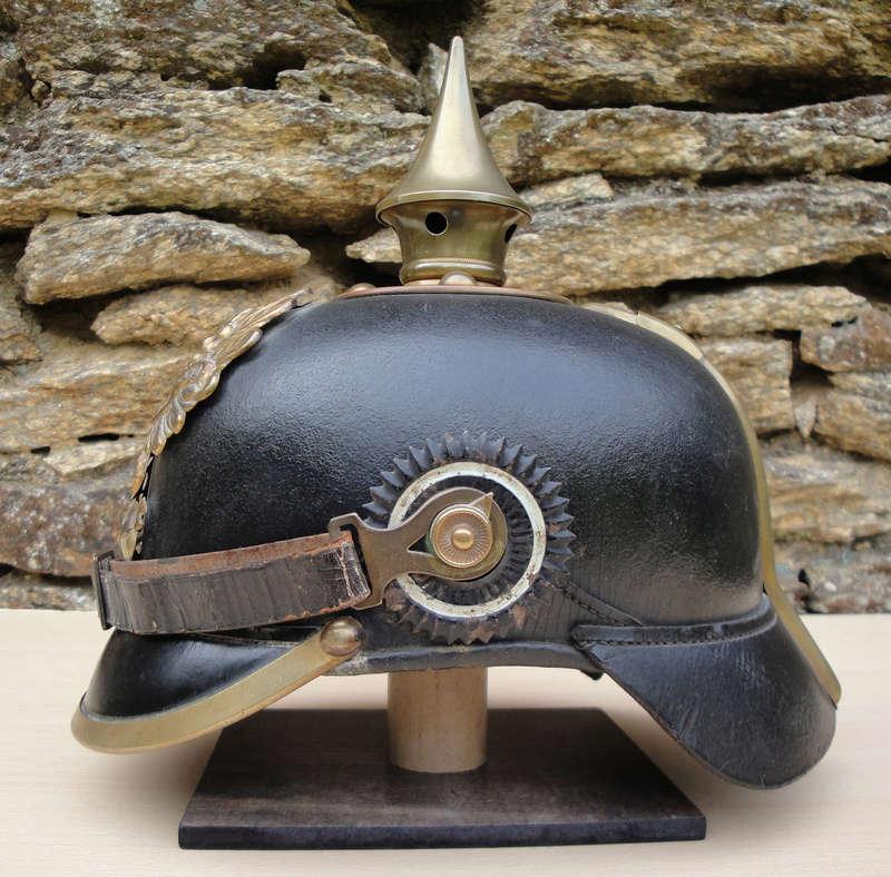 Mon premier pointu casque prussien 1895 430