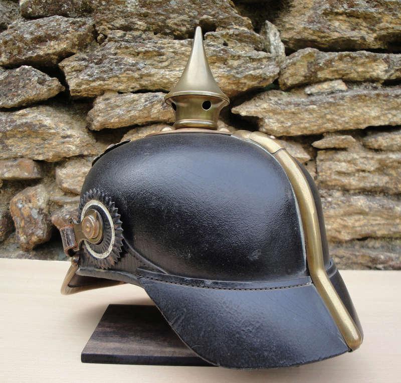 Mon premier pointu casque prussien 1895 534