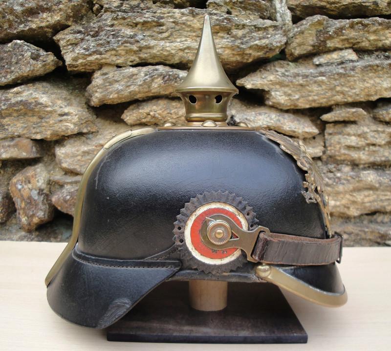 Mon premier pointu casque prussien 1895 828
