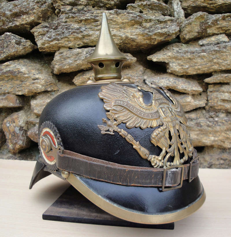 Mon premier pointu casque prussien 1895 927