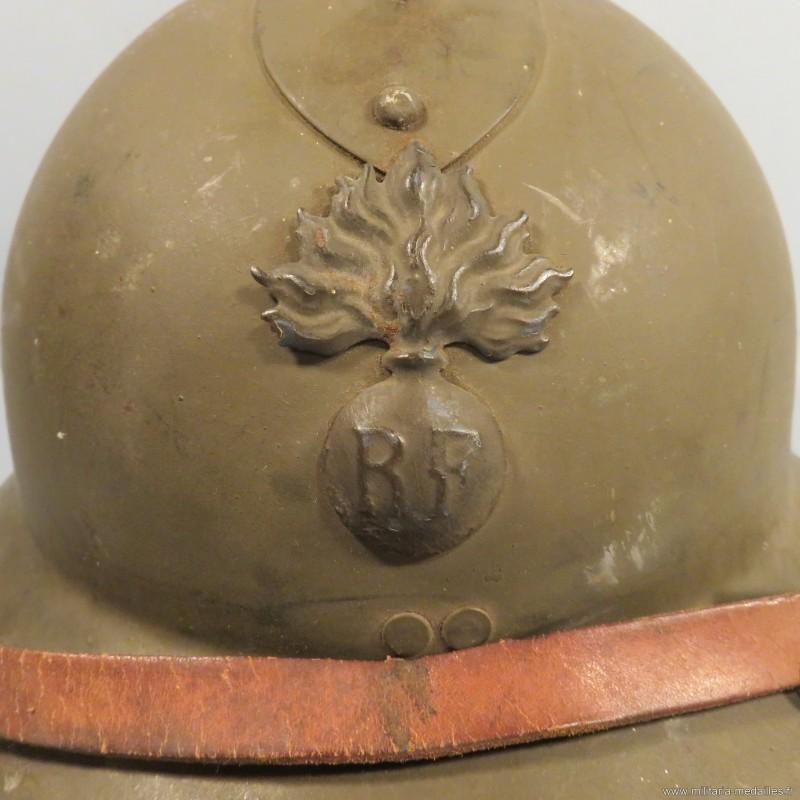 Casque Adrian Modèle 26 infanterie Casque21
