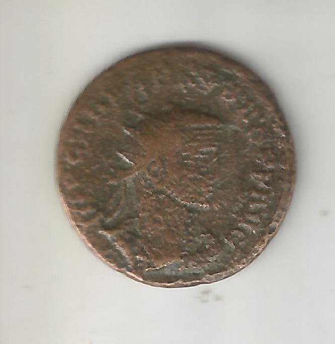 Aureliano de Probo. CLEMENTIA TEMP. Probo recibiendo globo de Júpiter. Antioquía 14710