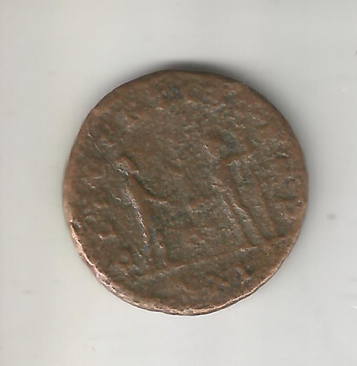 Aureliano de Probo. CLEMENTIA TEMP. Probo recibiendo globo de Júpiter. Antioquía 14810