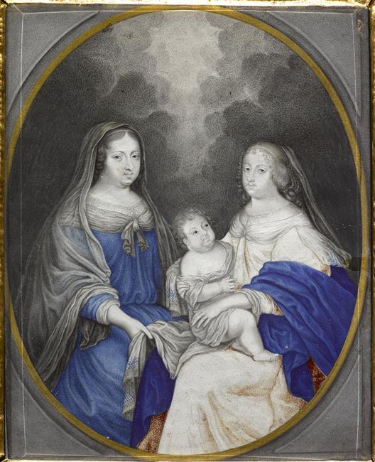 Expo à Bussy-Rabutin, la galerie des beautés de Louis XIV 15-51110