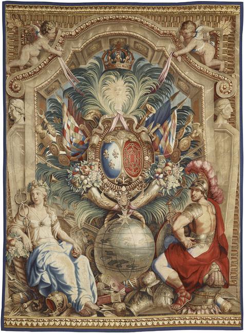 Expo. Pau : Portières de tapisserie d'après Charles Le Brun 16-51410