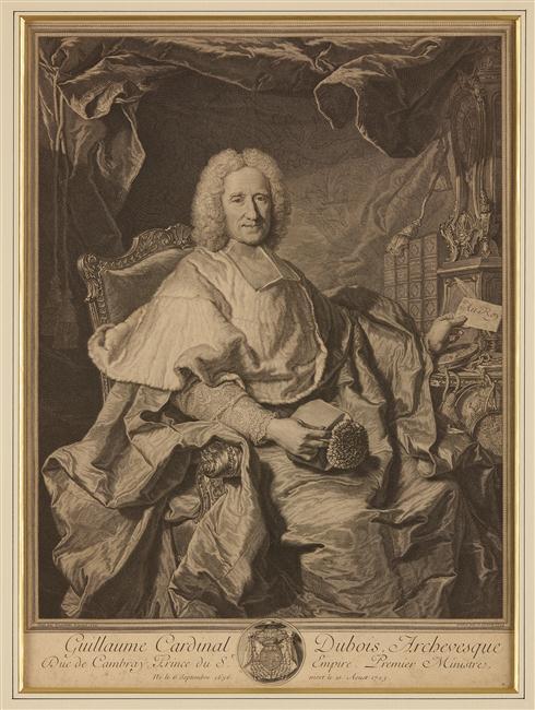 Le cardinal Dubois et Saint-Simon 16-51412