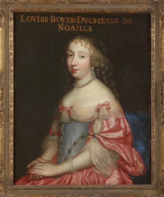 Expo à Bussy-Rabutin, la galerie des beautés de Louis XIV 16-53012