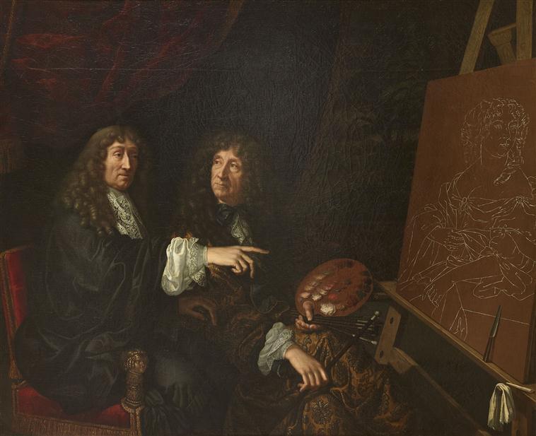 Expo à Bussy-Rabutin, la galerie des beautés de Louis XIV 18-51610
