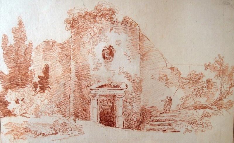 Hubert Robert et la fabrique des jardins à La Roche-Guyon 21273511