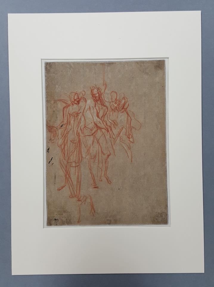 Traits divins. Dessins français du musée d'Orléans. XVIIe s. 27655410