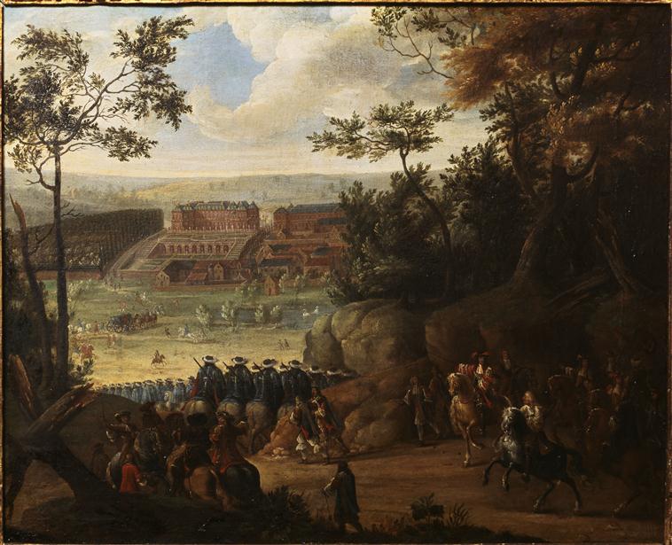 """Exposition """"Le cheval : Art et pouvoir"""" à Versailles  75-00110"""