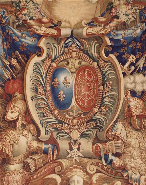 Expo. Pau : Portières de tapisserie d'après Charles Le Brun 94-05110