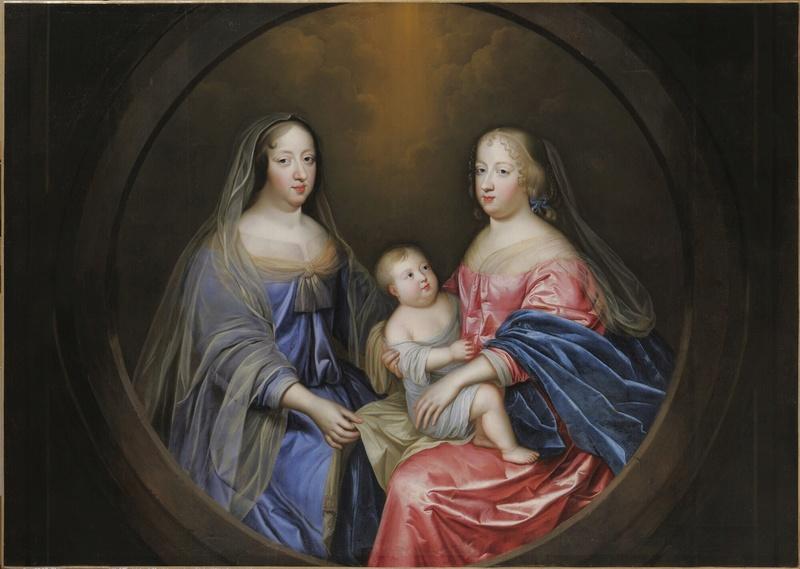 Expo à Bussy-Rabutin, la galerie des beautés de Louis XIV Anne_a11