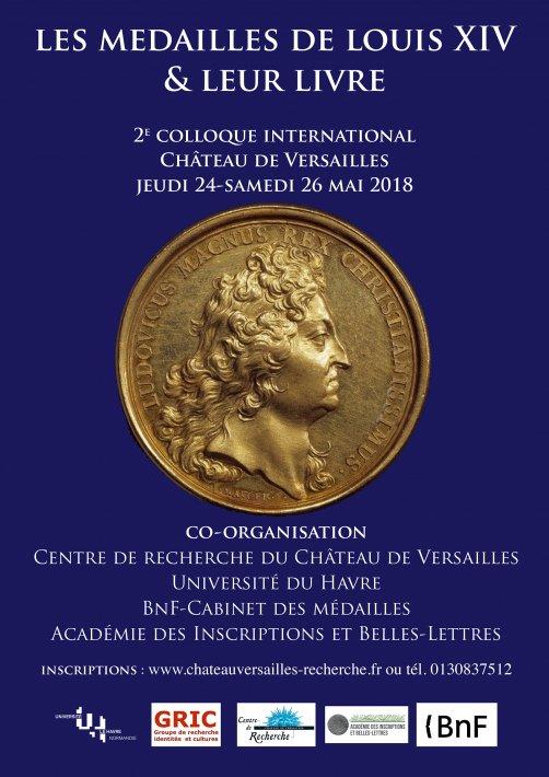 Les médailles de Louis XIV et leur livre Arton910