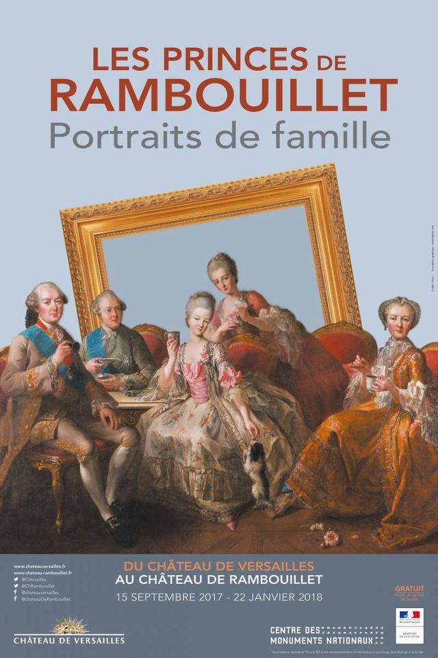 Réunion de Famille à Rambouillet : les Toulouse-Penthièvre Chteau11