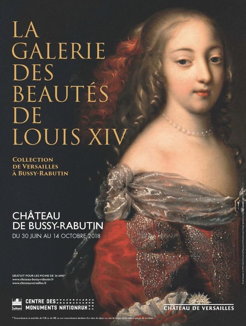 Expo à Bussy-Rabutin, la galerie des beautés de Louis XIV Dernie11