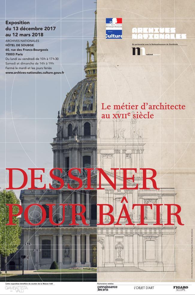 Dessiner pour bâtir,  le métier d'architecte au XVIIe siècle Dptkod10