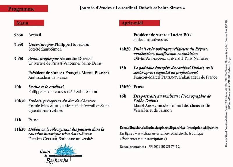 Le cardinal Dubois et Saint-Simon Dwy7xq10