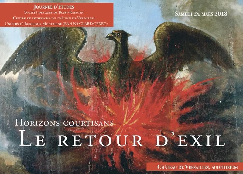 Horizons courtisans : le retour d'exil. CRCV 2018 Dxhsrq10
