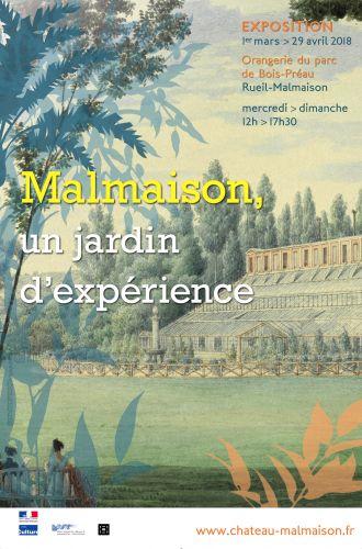 Malmaison, un jardin d'expérience Dykv4410