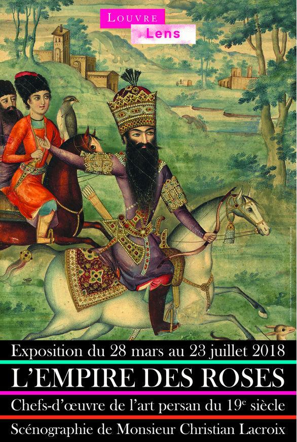 Lens. L'Empire des roses Chefs-d'oeuvre de l'art persan 19s. Empire10
