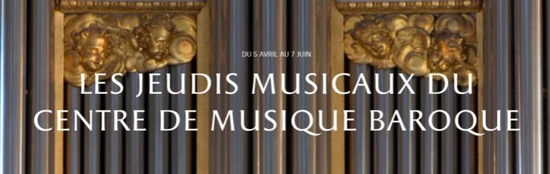 Jeudis musicaux de la Chapelle royale Jeudis11