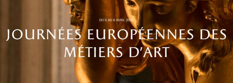Journées européennes des métiers d'art Versailles avril 2018 Mytier10