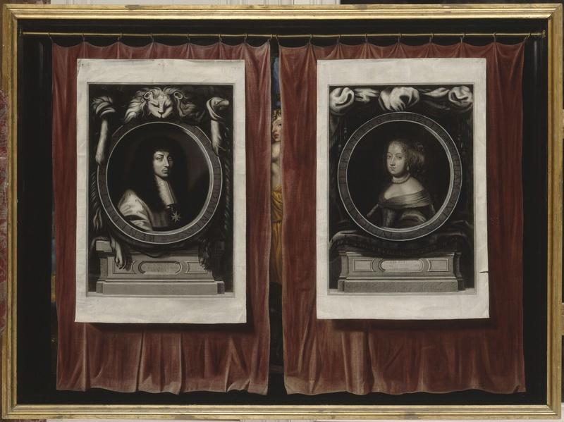 Expo à Bussy-Rabutin, la galerie des beautés de Louis XIV Portra11