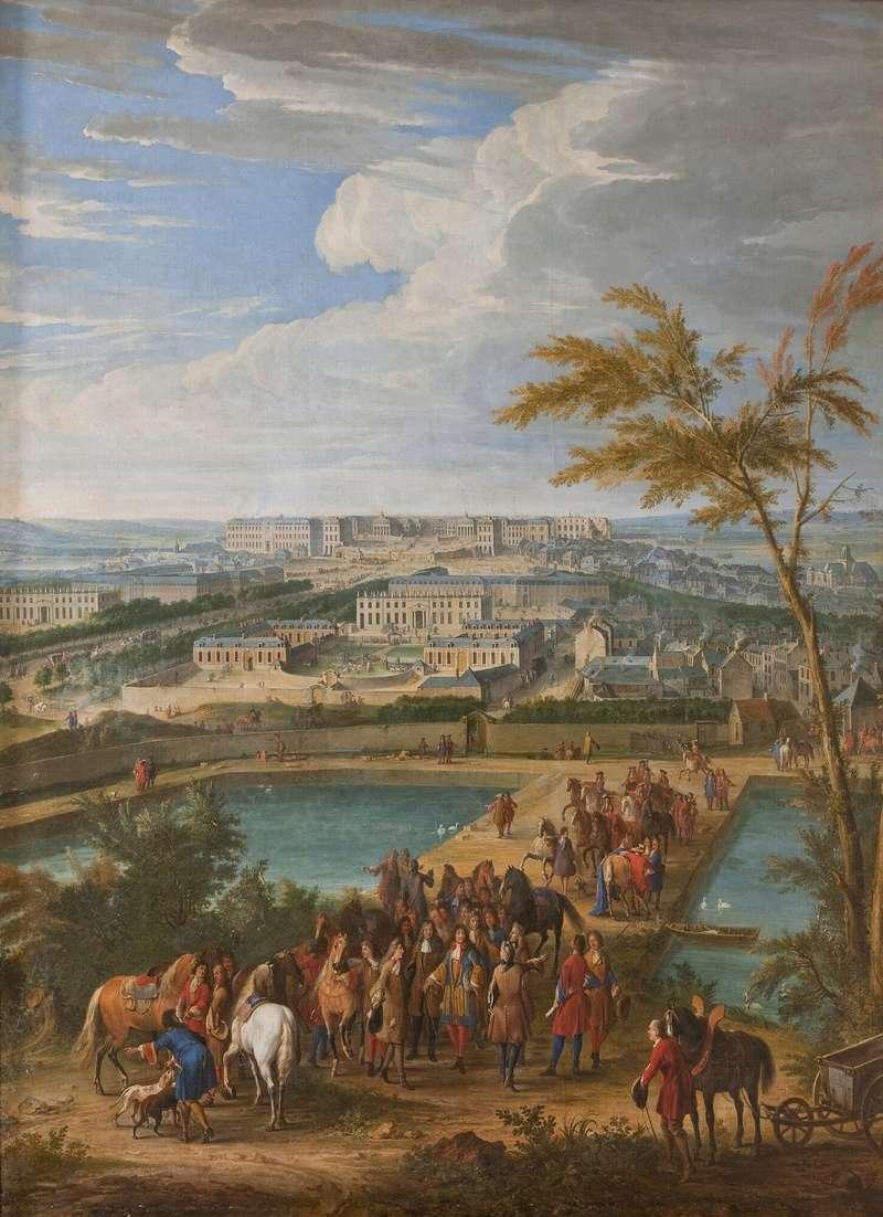 Le mythe de Versailles et l'Europe des cours, XVIIIe-XIXe s. Vue_ve10